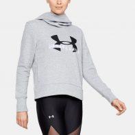 Mikina Under Armour Cotton Fleece Sportstyle Logo W - 1321185-035