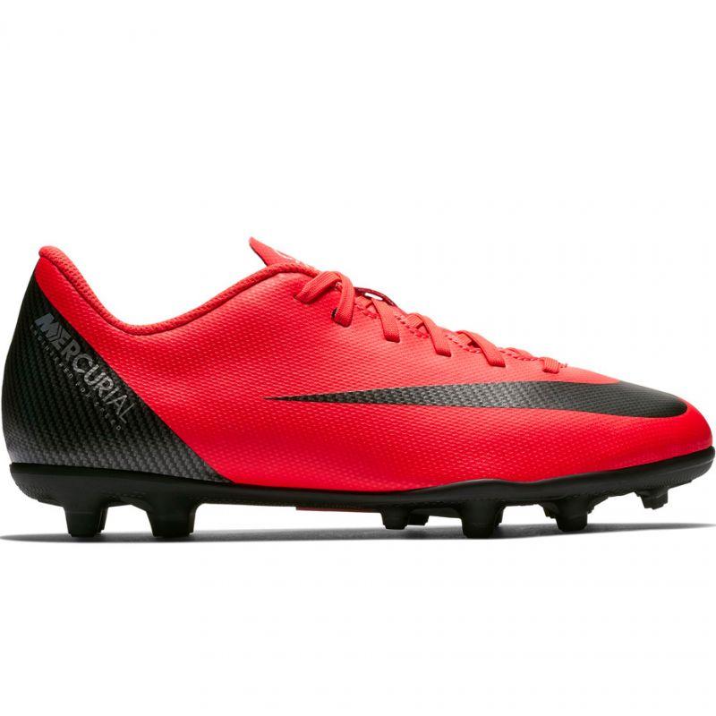 81b5295dc5619 Juniorské kopačky Nike Mercurial Vapor 12 Club GS CR7 FG/MG Jr - AJ3095-