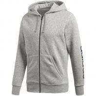 Mikina Adidas Essential Linear FZ HOOD M - BQ9636