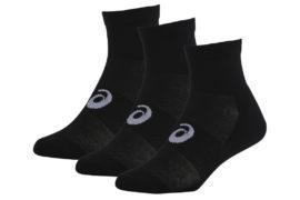 Asics 3PPK Quater Sock 128065-0900