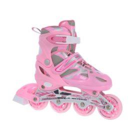 Univerzálne korčule 2v1 Nils Extreme Pink veľ.39-42 - NH18366 A