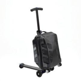Kolobežka s kufríkom Nils Extreme BLACK - HTF06