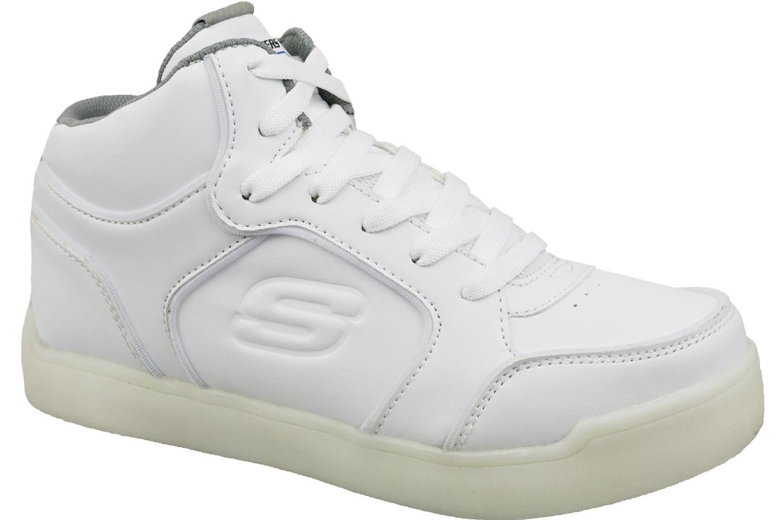 Blikajúce tenisky Skechers Energy Lights - 90622L-WHT  82173e79e51