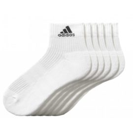 Ponožky Adidas 3 Stripes Performance Ankle Half Cushioned 6pak - AA2288