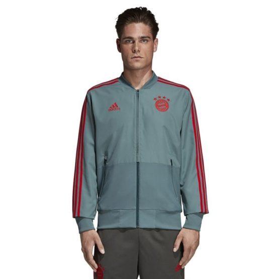 Mikina Adidas FC Bayern PRE JKT M - CW7298