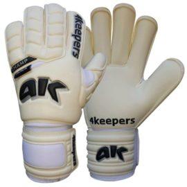 Brankárske rukavice 4Keepers Champ Black RF III M - S494326