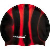 Plavecká čiapka Aqua-Speed Bunt 38 čierno-červená - 1159-38