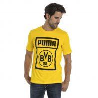 Tričko Puma BVB Shoe Tag Tee M 754057 01