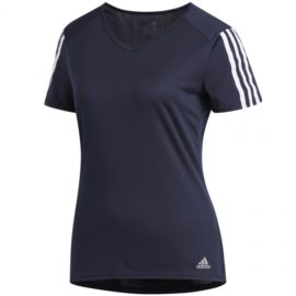 Tričko Adidas Run 3 Stripes Tee W DX2019