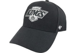 47 Brand NHL Los Angeles Kings Cap HVIN-MVP08WBV-BKB88