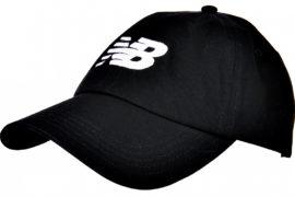 New Balance Brim Snapback Cap LAH91017-BK