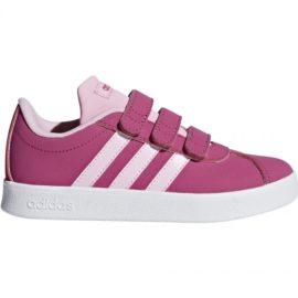 adidas-Buty Adidas VL Court 2.0 CMF C rozowe JR F36394