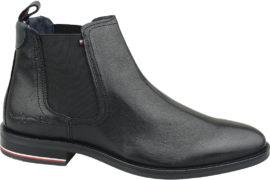 Tommy Hilfiger Signature Leather Chelsea Boots FM0FM02421-990