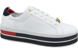 Tommy Hilfiger TH Hardware Flatform Sneaker FW0FW04295-100