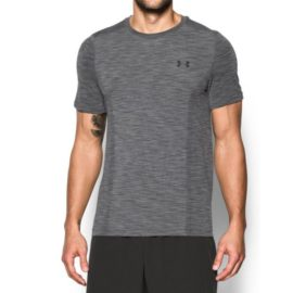 Under Armour HeatGear Fitted Threadborne Knit Short Sleeve Shirt 1289596-040 HG