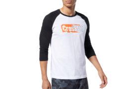 Reebok CrossFit Sticker Rip Raglan Tee EC1488